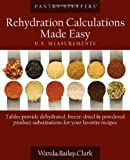 Pantry Stuffers Rehydration Calculations Made Easy: U.S. Measurements Pantry Stuffers Rehydration Calculations Made Easy: Metric Measurements