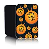 Biz-E-Bee Exclusive 'RETRO SPACEHOPPER 7HD' Neoprene Pouch for NEW AMAZON KINDLE FIRE HD2 2013 7 inch 7