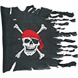 Weathered Pirate Flag Party Accessory (1 count) (1/Pkg)