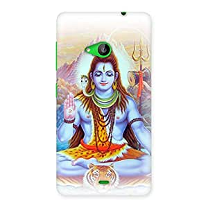 Impressive Blessings Of Shiva Back Case Cover for Lumia 535