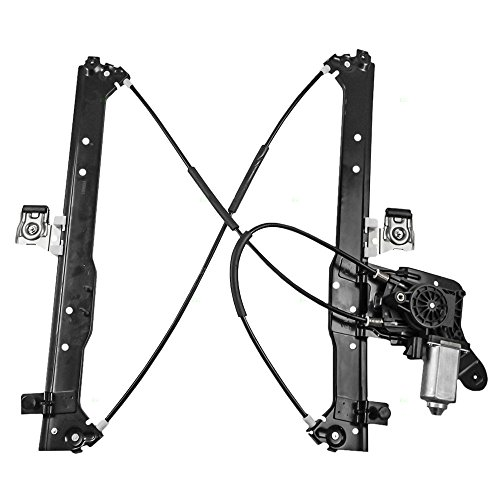 Drivers rear power window lift regulator motor assembly for 2001 tahoe window regulator replacement