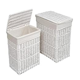 Target Two Basket White Hamper