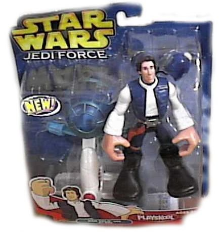 Star Wars Jedi Force Han Solo Figure