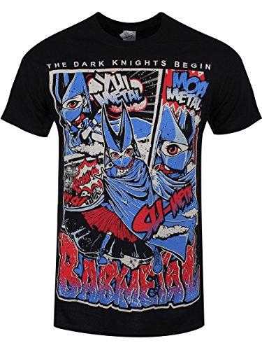 Babymetal T-shirt Dark Knights da uomo in nero