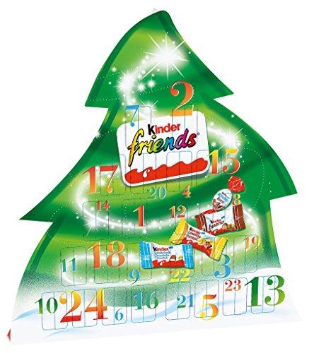 [해외]친절한 친구 강림절 달력, 135g/Kinder Friends Advent Calendar, 135g