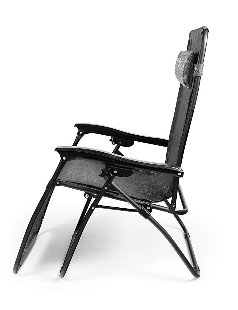 Zero gravity recliner chaise lounge camping picnic beach for Chaise zero gravite