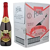 White Pearl Non Alcoholic Red Grape Sparkling Juice Drink (Pack of 6)