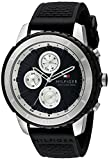 Tommy Hilfiger Men's 1791194 Casual Sport Analog Display Quartz Black Watch