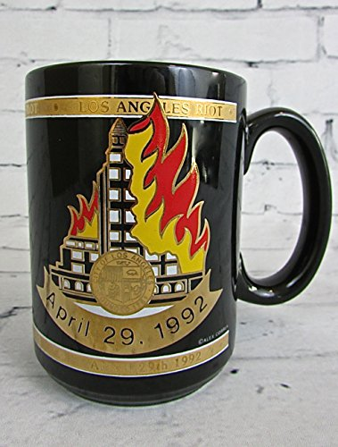 Los Angeles Riot Survivor Commemorative Collectors Mug Rodney King