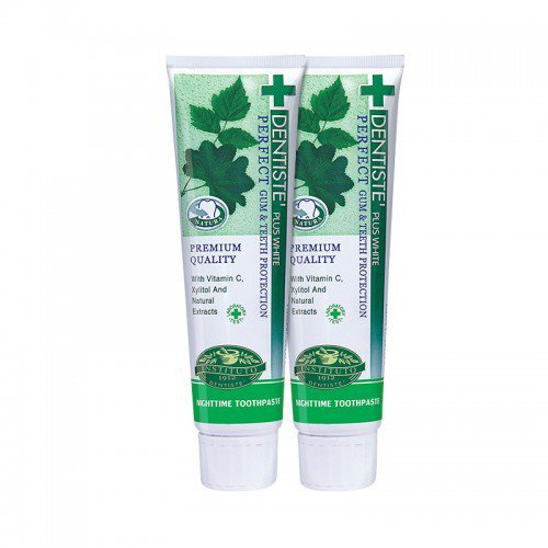 DENTISTE TOOTHPASTE 100ML TWIN PACK (Spry Grape compare prices)