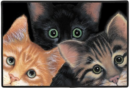 Home Gift & Decor Peeping Toms Cat Cats Kitten Porch Doormat Door Mat