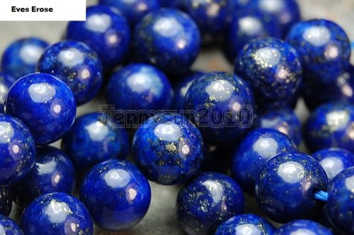 16'' inch Strand of 10mm Natural Lapis Lazuli