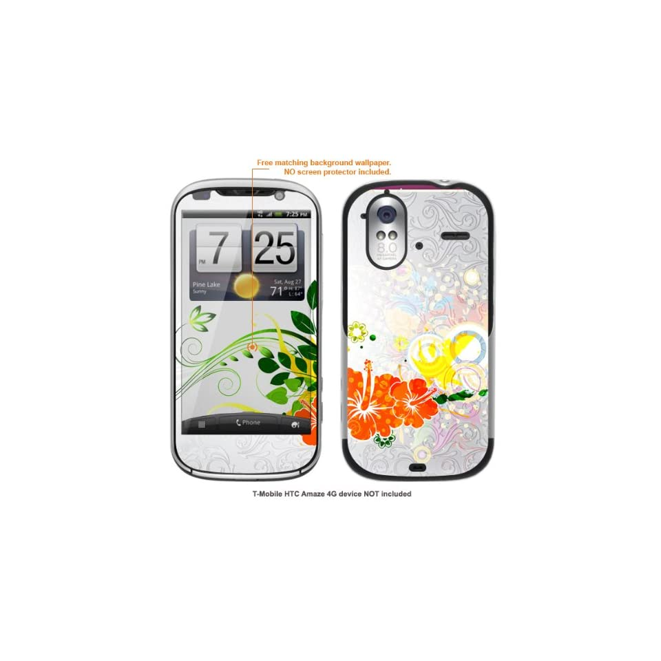 Protective Decal Skin Sticker for HTC Amaze 4G case cover Amaze_4g 122