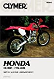 Honda XR400 R 96-04 (Clymer Motorcycle Repair)