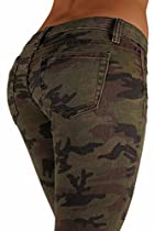 5027 - VIP Jeans - Classic 5 Pockets Camouflage Stretch Skinny Jeans Size 11/12