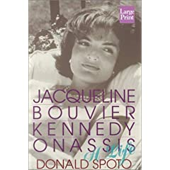 Jacqueline Bouvier Kennedy Onassis: A Life (Wheeler Large Print Book Series)