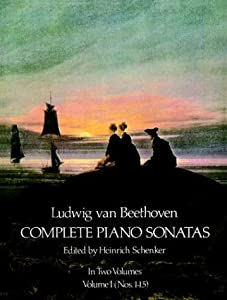 Ludwig Van Beethoven Complete Piano Sonatas 001 Dover Music For Piano by Dover Publications Inc.