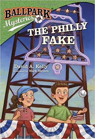 Ballpark Mysteries #9: The Philly Fake (A Stepping Stone Book(TM)) written by David A. Kelly