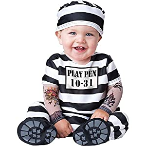 Time Out Convict Baby Costume