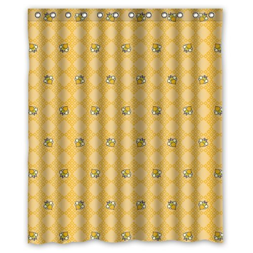 New Choice - Cartoon For Kids Cute Small Bees Shower Curtain 60