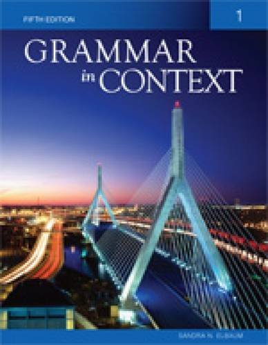 Grammar in Context 1