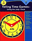 Telling Time Games, Grade 2: Using the Judy Clock