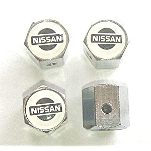 Nissan Anti-theft Car Wheel Tire Valve Stem Caps