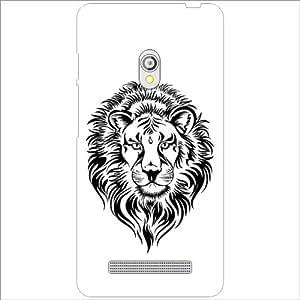 Asus Zenfone 5 A501CG - Lazer Print Tiger Designer Cases
