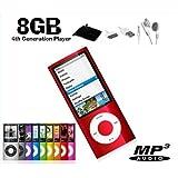 Jacomi 8 gb Slim Mp3 Mp4 Mp5 Music Video FM Radio Media Player