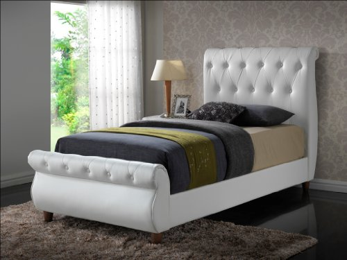 Beds With Leather Headboards 3570 front