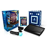 Console PS3 Ultra slim 12 Go noire + Pack d�couverte PlayStation Move + Book of Spells + Wonderbook