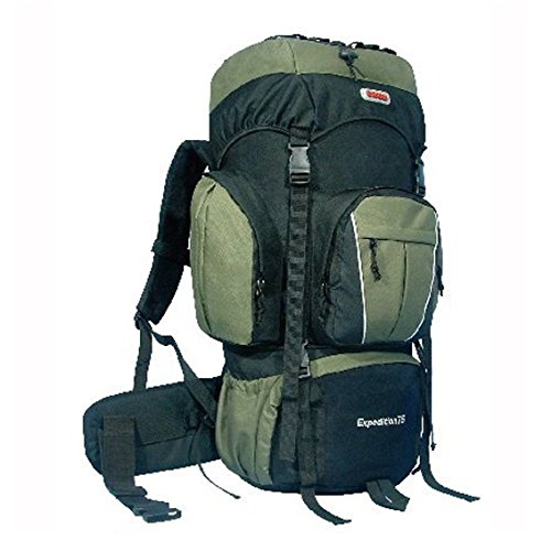 Cuscus 5400Ci Internal Frame Hiking Camp Travel Backpack Green front-717638