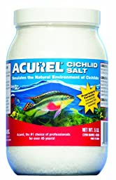 Acurel LLC African Cichlid Salt, Aquarium and Pond Water Treatment, 5-Pound
