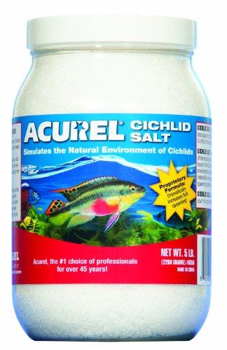 Imagen de Sal de cíclidos africanos Acurel LLC, acuario y tratamiento de agua de estanque, 5 libras