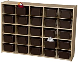 Contender C16002F 25 Tray Storage w/Chocolate Trays; Assembled