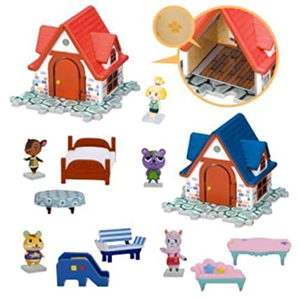 Nintendo Animal Crossing House & Furniture Figure Play Set of 5