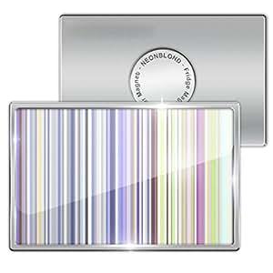 "Amazon.com: Fridge Magnet ""Thin strips, design / pattern ..."