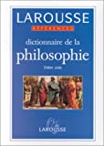 img - for Dictionnaire de la philosophie (References Larousse) (French Edition) book / textbook / text book