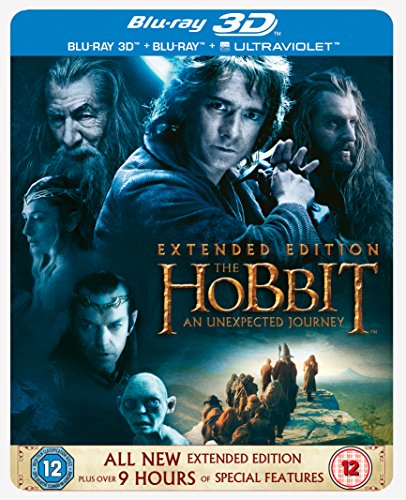 Hobbit: An Unexpected Journey 3d [Blu-ray] [Import]