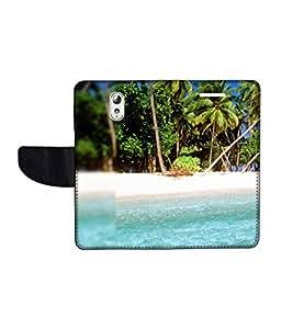 KolorEdge Printed Flip Cover For Lenovo Vibe P1M Multicolor - (1478-50KeMLogo09387LenovoP1M)