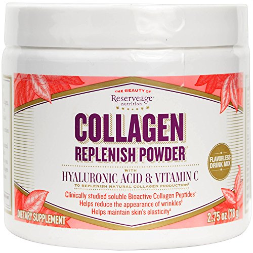 Reserveage - Collagen Replenish Powder, Defense Against Collagen Deterioration, 2.75 ounces