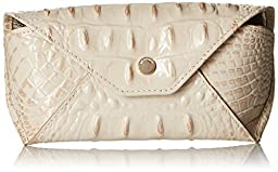 Brahmin Eye Glass Case Pouch, Cava, One Size