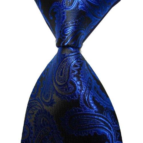 Paisley Jacquard Woven Men's Tie Necktie Scarf Wedding Party Dress 13 Colors