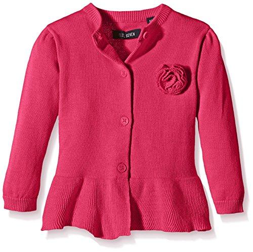 blue seven - Mini Md Strickjacke RH, Maglione per bambine e ragazze, rosa (pink 426), 9 mesi (74)