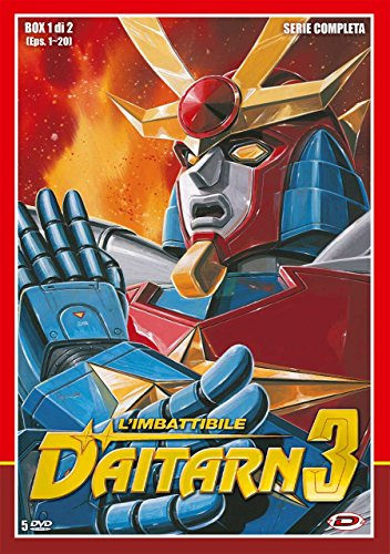 L' Imbattibile Daitarn 3 - Serie Completa Box #01-02 (Eps 01-40) (10 Dvd)