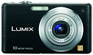 Panasonic Lumix DMC-FS7 10 MP Digital Camera with 4x MEGA Optical Image Stabilized Zoom and 2.7 inch LCD (Black)