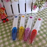 Thread Cutter Scissors Clipper Snips&Safety Cover for Cross-stitch Embroidery Random Color