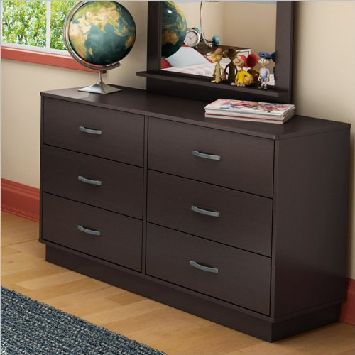 South Shore Logik Collection Double Dresser,