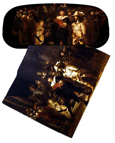 set-brillenetui-und-brillenputztuch-rembrandt-nachtwache-von-artis-vivendi