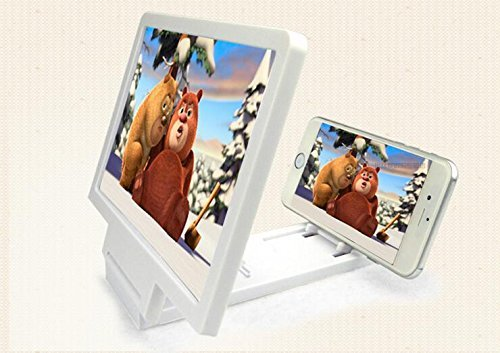 Pikimania Universal Mobile Phone Analog 3D Video Folding Enlarged Screen Expander Stand for iPhone Samsung And other Smart Phones
